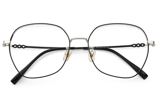 Dasha Metal Square Eyeglasses