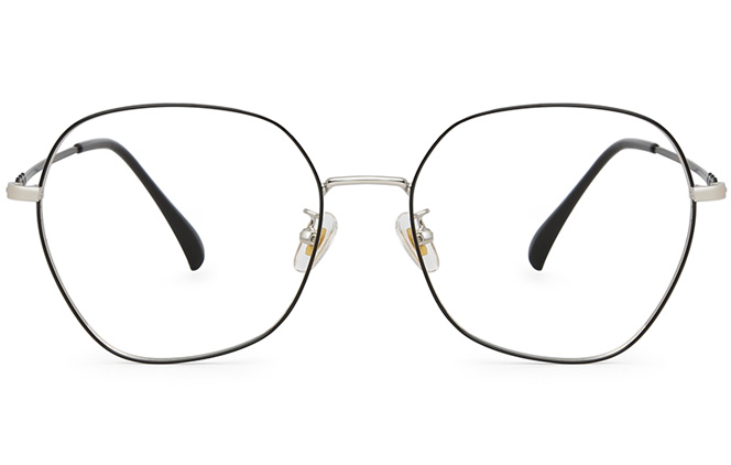 Dasha Metal Square Eyeglasses