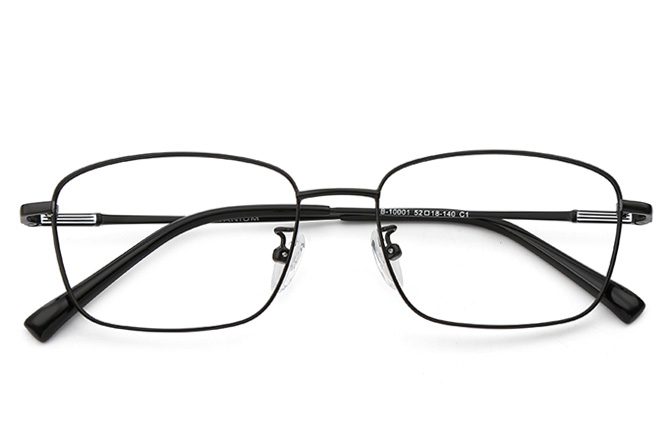 Brad Titanium Rectangle Eyeglasses