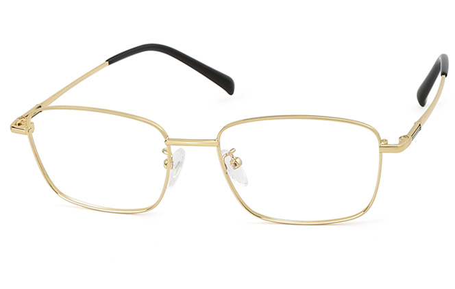 Brad Titanium Rectangle Eyeglasses фото