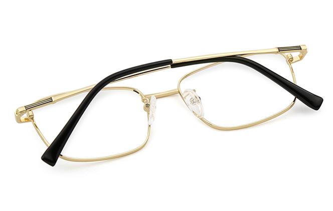 Brad Titanium Rectangle Eyeglasses