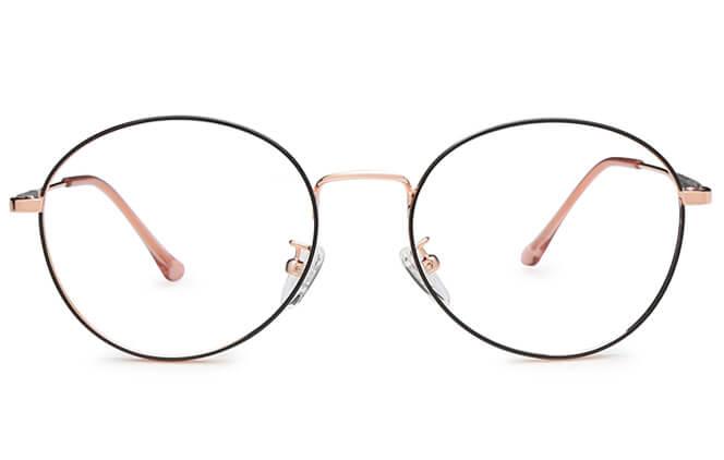 Cara Round Eyeglasses