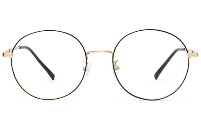 Gisele Round Eyeglasses