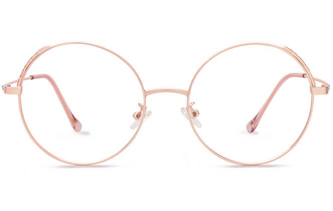 Sigrid Round Eyeglasses