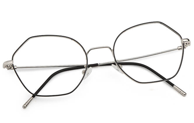 Ariana Polygon Eyeglasses