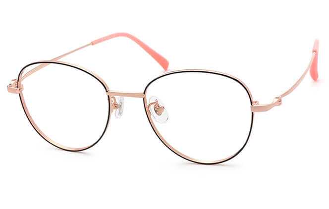 Shelby Titanium Cat Eye Eyeglasses фото