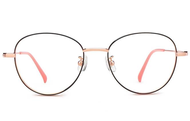 Shelby Titanium Cat Eye  Eyeglasses