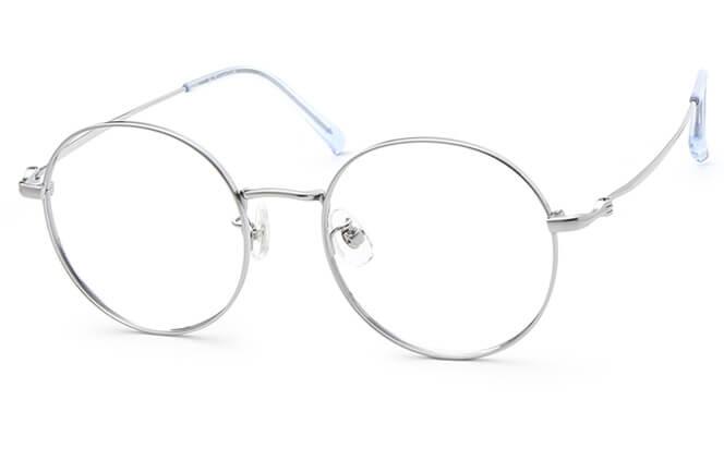 Viola Titanium Round Eyeglasses фото