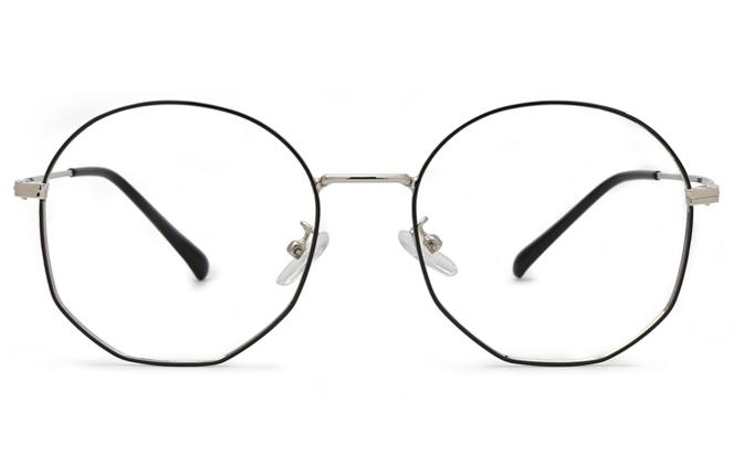Galina Round Eyeglasses