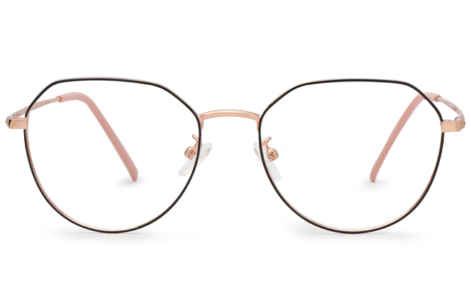Carey Polygon Eyeglasses