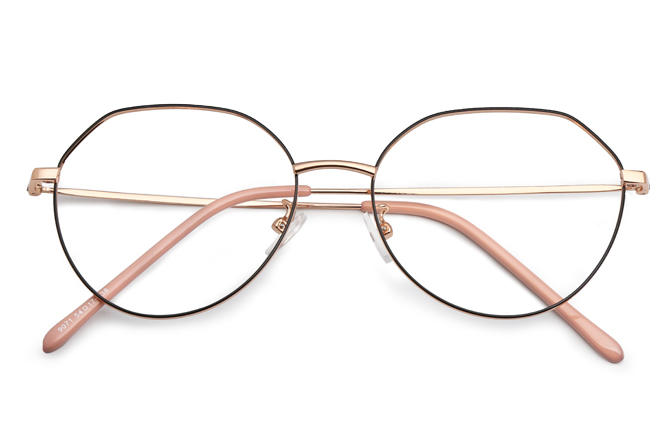 Dakota Polygon Eyeglasses