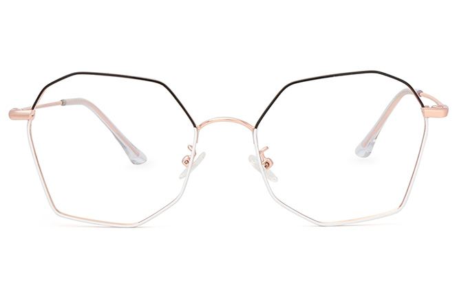 Marjorie Polygon Eyeglasses