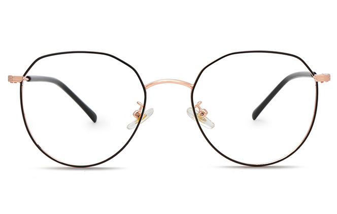 Barbara Polygon Eyeglasses