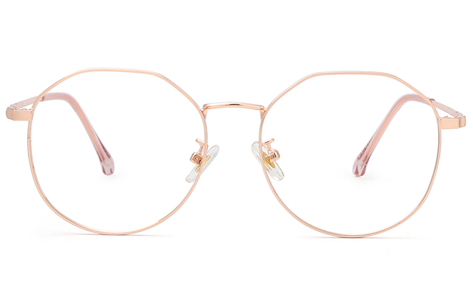 Olga Polygon Eyeglasses