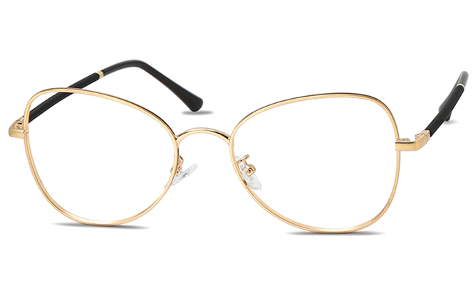 Gal Oval Eyeglasses фото