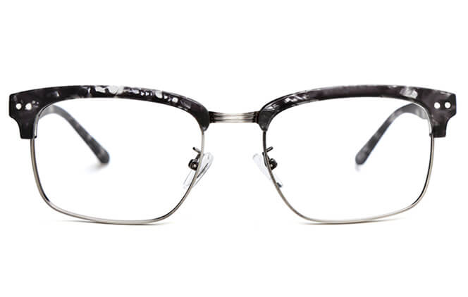 Tommie Browline Rectangle Eyeglasses