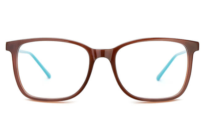 Durham Rectangle Spring Hinge Eyeglasses