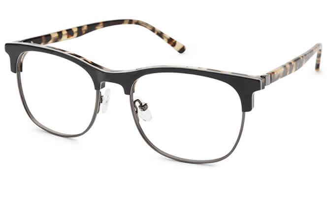 Marion Browline Rectangle Eyeglasses, Other;tortoiseshell