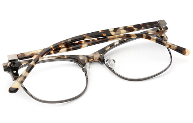 Marion Browline Rectangle Eyeglasses