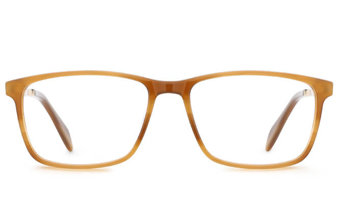 Avery Spring Hinge Rectangle Eyeglasses