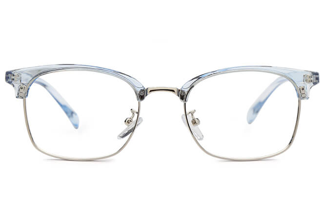 Bianca Browline Rectangle Eyeglasses