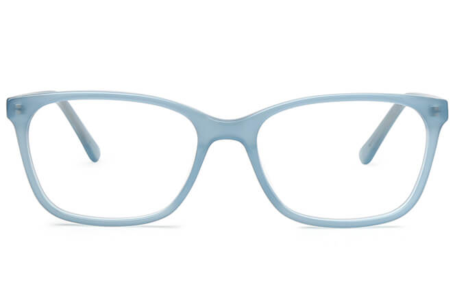 Claire Rectangle Spring Hinge Eyeglasses