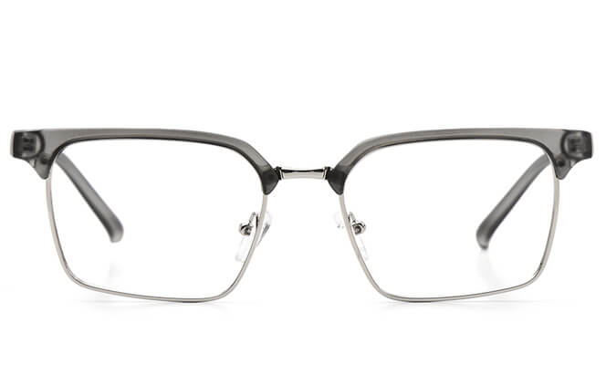 Lavelle Browline Rectangle Eyeglasses