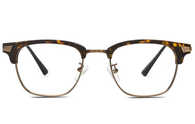 Shalese Browline Rectangle Eyeglasses
