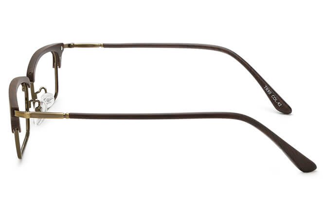 Melanie Browline Rectangle Eyeglasses