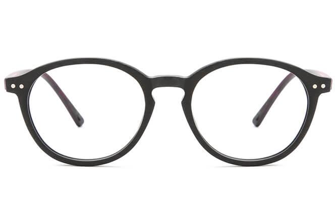 Gehan Round Eyeglasses