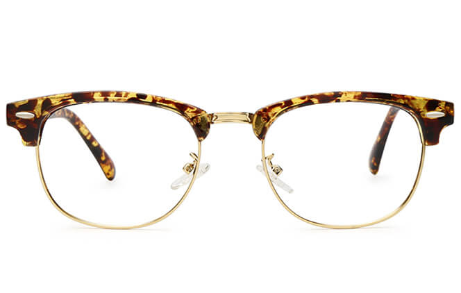 Frederick Browline Metal Eyeglasses