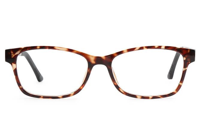 Shayna Rectangle Magnetic Clip-on Glasses