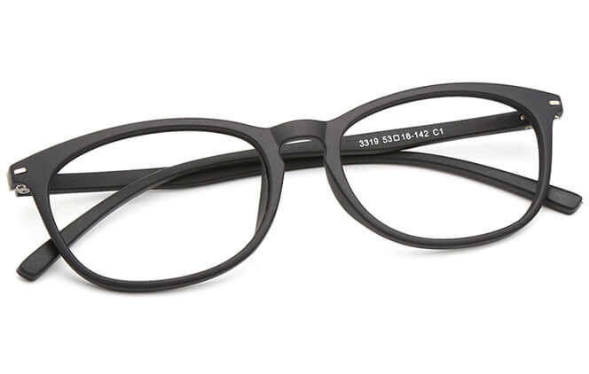 Taryn Oval Eyeglasses