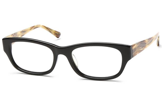 Jerrian Rectangle Eyeglasses, Other;black