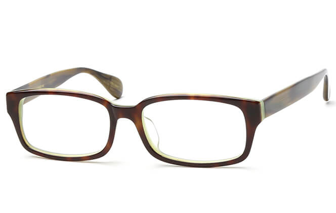 Yadira Rectangle Eyeglasses, Tortoiseshell