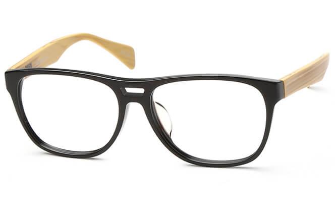 Mosina Wayfarer Eyeglasses, Light brown;other;matte brown