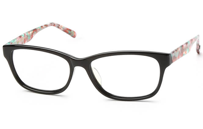 Zavia Oval Eyeglasses, Purple;red;other