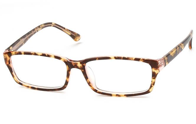 Selisa Rectangle Eyeglasses, Tortoiseshell