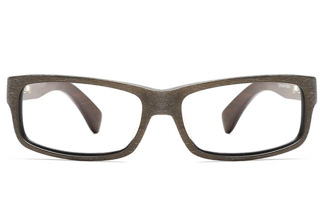 Morelia Spring Hinge Rectangle Eyeglasses