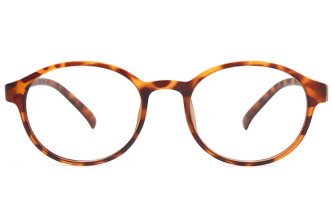 Fallon Round Eyeglasses