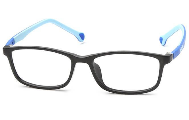Joanela Kids' Rectangle Eyeglasses, Pink;blue