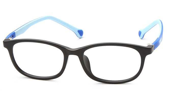 Dezirae Kids' Rectangle Eyeglasses, Red;blue