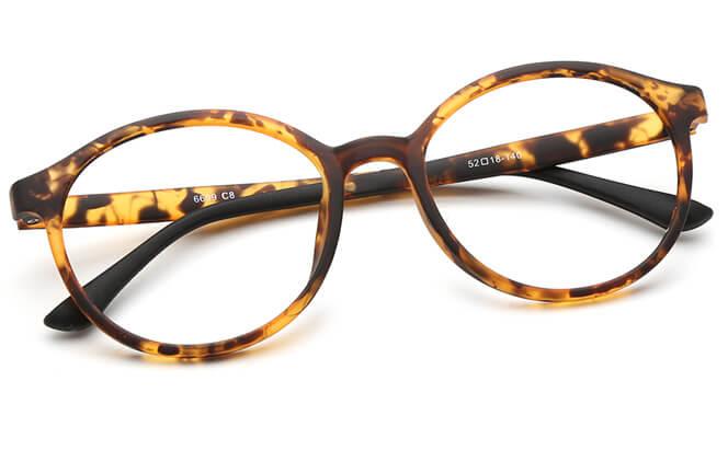 Ewan Round Eyeglasses