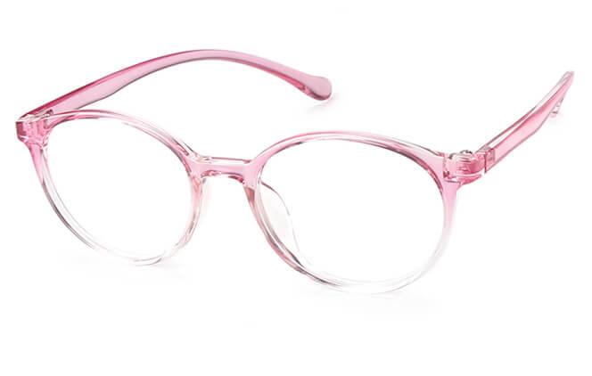 Claudette Round Eyeglasses фото
