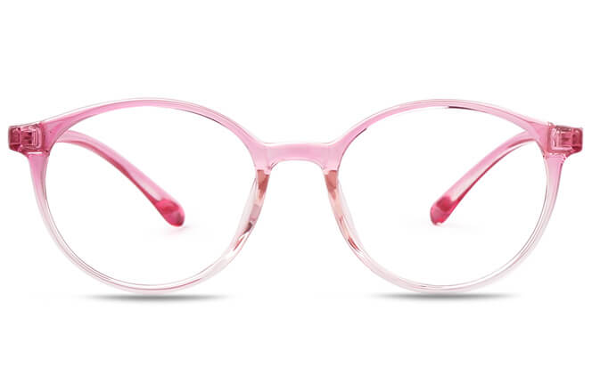Claudette Round Eyeglasses