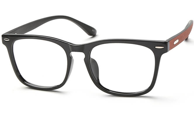 Josh Rectangle Eyeglasses, Brilliant black;matte black;black&&brown;tortoiseshell