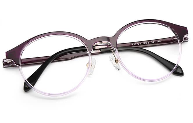 Beyonce Browline Eyeglasses