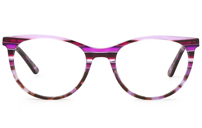 Morgane Spring Hinge Oval Eyeglasses