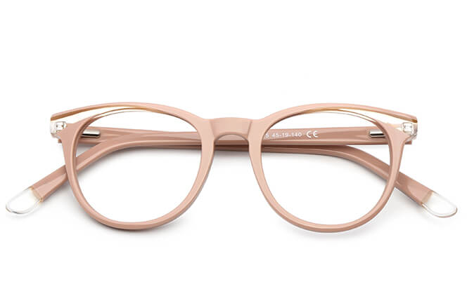 Russian Spring Hinge Cat Eye Eyeglasses