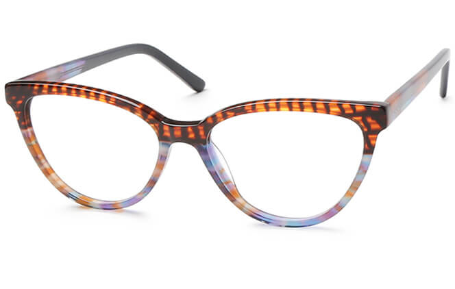 Heidi Spring Hinge Cat Eye Eyeglasses, Tortoiseshell;other